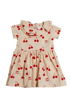 Mini Rodini Mon Cheri cherry dress- too cute
