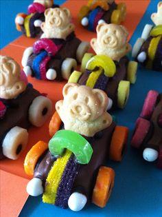 Tiny Teddy Racers!!!! Yummmmm
