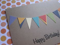 """Simple DIY card - have each child create a handmade card with stickers, scrapbook paper, etc.  on the back """"handmade to benefit MHE"""", A/M doing greeting cards with their organization project"""
