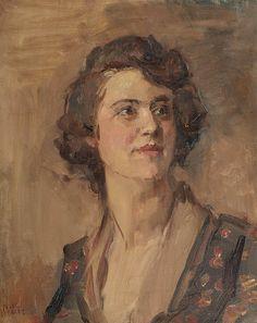 Isaac Israëls - Portret van een dame #2