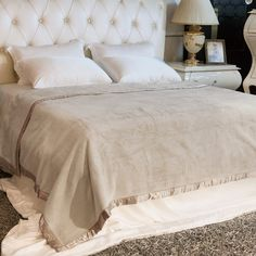 Luxury 100% Mulberry silk blankets are soft, light and amazingly warm.