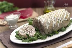 Polpettone di tonno Fett, Baked Potato, Carne, Buffet, Pork, Baking, Ethnic Recipes, Homemade Food, Kale Stir Fry