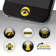 Iowa Hawkeyes Fat Dots...for when I get my iphone