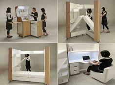 """""""The Kenchikukagu Mobile Furniture Series"""""""