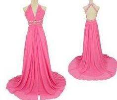 Halter Prom Dresses, V-Neck Prom Dresses, A-Line Prom Dresses,Chiffon Prom Dresses, Floor-Length Prom Dresses,Evening Dresses, Party Dresses, Hot Sale Prom Dresses, High Quality Prom Dresses, Custom Dresses