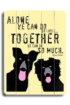 Together  by Pet Art Shop on @HauteLook