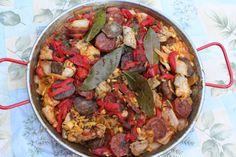 Bon Vivant highlights Imperial Chorizo in a recipe for Chicken and Chorizo Paella.