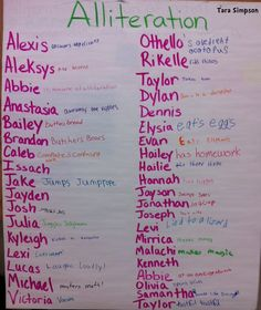 An Awesome Intro to Alliteration activity