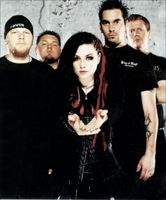 Picture of Evanescence — Evanescence Fallen Promo for Kerrang! Magazine, autumn 2003