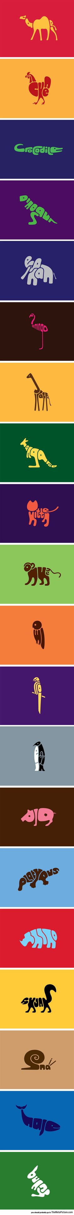 Animals In Words symbole graphique