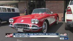 "Huge Carmel car show marries cars and art ""Artomobilia"" is a celebration of automotive art and design, and kicks off this weekend in Carmel."