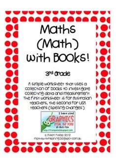 Math with Books - Freebie