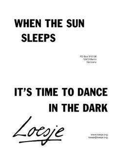 Loesje - Dance in the dark