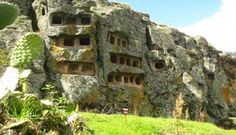 Las Ventanillas de Otuzco es un sitio arqueológico situado en el distrito de Baños del Inca a 8 km al noroeste de la ciudad de Cajamarca. La criptas cumplía su función de recinto funerario.