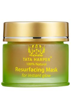 Don't underestimate this mask because it's totally natural. If your skin is at all sensitive, this might sting a little too much for you. But if you can take it, leave a thick layer on for about 20 or 30 minutes before rinsing it off. Your skin might be a little red afterward, but just give it a few minutes to calm down. The end result is smaller pores and brighter skin after just one use.Tata Harper Resurfacing Mask, $58, sephora.com