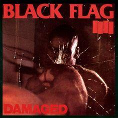 Black Flag - Damaged Vinyl Record
