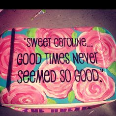 song, cooler idea, crafti, hello colleg, painted coolers, sweet caroline, college coolers, diy, north carolina