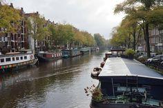 Amsterdam, Gracht im Herbst