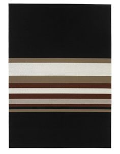 Woodnotes paper yarn carpet Horizon col. black-reddish brown.