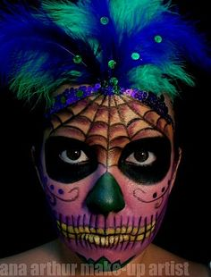 ana arthur make-up artist: Day of the Dead