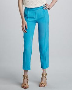 Milly Nicole straight leg trousers