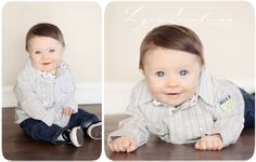 Cute Six Month Old boy Image Massachusetts Photographer Worcester Childrens Portrait.jpg