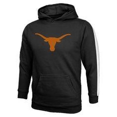 Texas Fans Get The Team Logo Hooded Fleece by Genuin Stuff.