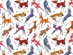 A wrapping paper illustration commissioned by the local bookstore chain Cărturești.