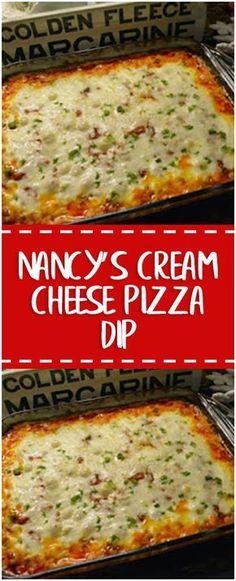 Nancy's Cream Cheese Pizza Dip #cream #foodlover #cheese #pizza #cookingtips
