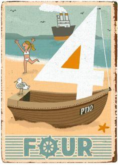 Paul Thurlby - 4 - Limited Edition Giclee Print