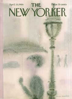 Laura Jean Allen : Cover art for The New Yorker 2253 - 20 April 1968