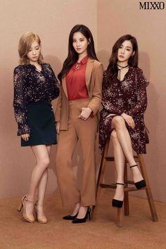 Taeyeon, Seohyun, and Tiffany, TaeTiSeo