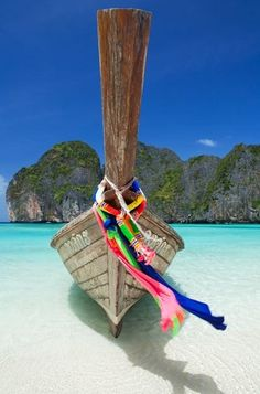 Longtail Boat, Koh Phi Phi Ley