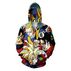 Dragon Ball Zipper Jacket (12 Model)   Tag a friend who would love this!   FREE Shipping Worldwide   Buy one here---> https://www.shenronstore.com/fashion-new-men-winter-jacket-dragon-ball-z-son-goku-anime-jacket-hoodie-funny-sugar-rush-kid-buu-all-over-print-hooded-jacket/