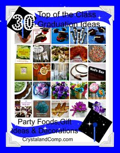 graduation picnic ideas | food for the graduation party luscious and creamy flourless graduation ...