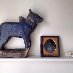 Nandi // India // Bull // Shiva // Folk Art by StoneHouseArtifacts