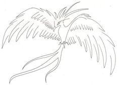 Phoenix tattoo idea original tattoo design outline black and white tattoo.s…, … - phoenix tattoo Original Tattoos, Black And White Lines, White Ink, Outline, Phoenix, Phönix Tattoo, Tattoo Designs, How To Draw Hands, Original Art