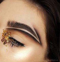 Brow Carving Eyebrow Trend | POPSUGAR Beauty