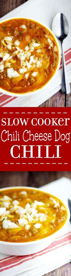 Slow Cooker Chili Ch