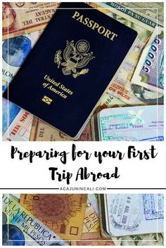 What to Do Before a Trip Abroad | International Travel Tips | Travel Planning Tips | First-time Travel | Preparing for Vacation | Trip Planning Guide via @acajunincali
