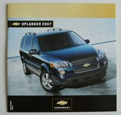Find many great new & used options and get the best deals for CHEVROLET UPLANDER 2007 dealer brochure catalog - French - Canada at the best online prices at eBay! Free shipping for many products!