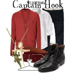 Captain Hook maybe with a more relaxed shirt but I can see it.