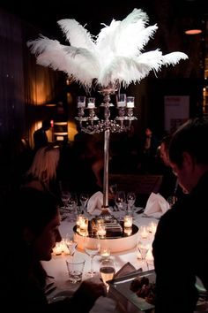 Hollywood Glam Centrepiece | Theme From Jak