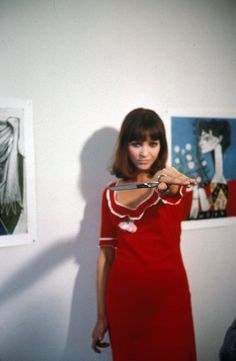 Still of Anna Karina in Pierrot le Fou