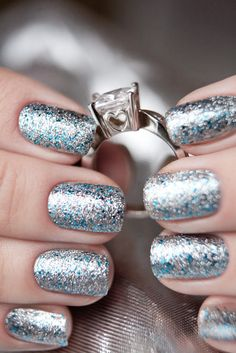 China Glaze Lorelei's Tiara. #nails #nailpolish #chinaglaze