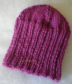 Nenaartesanatos: Gorro em tricô Knitted Hats, Knitting, Fashion, Men's Waistcoat, Knitted Booties, How To Knit, Berets, Tejidos, Knit Hats