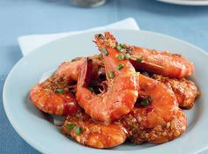 Impress unexpected guests with these gorgeous red prawns in thick sauce.TOMATO GARLIC PRAWNS RECIPE.