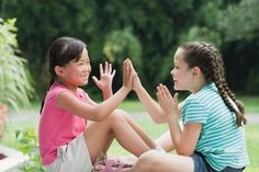 Hand Clapping Games (Down Down Baby' was a favorite - I was a pro at these)