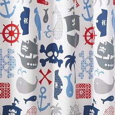 I want this shower curtain for the boys bathroom