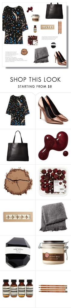 """""""Starving"""" by danielsfashion ❤ liked on Polyvore featuring Alice + Olivia, Alexander Wang, SOREL, Chantecaille, From the Road, The Body Shop and Aesop"""